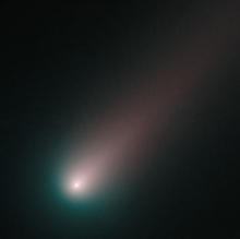 Hubbles Last Look at Comet ISON Before Perihelion