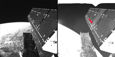 Sentinel 1A fragment impact in space node full image 2