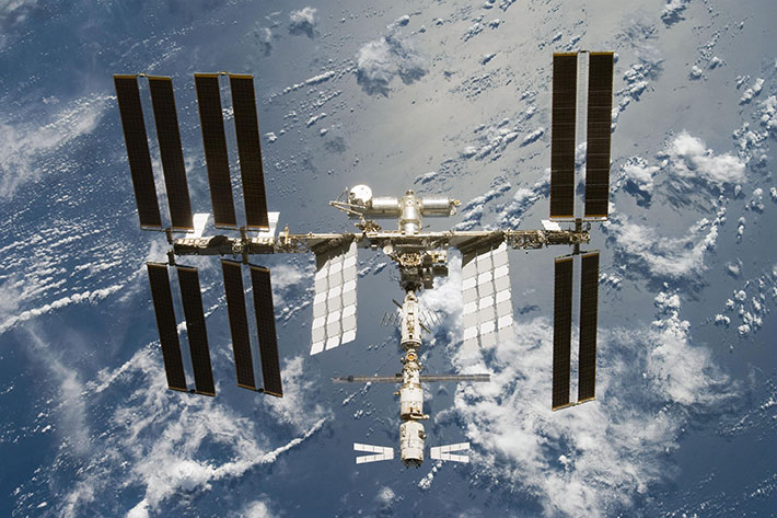 ISS after STS 124 06 2008