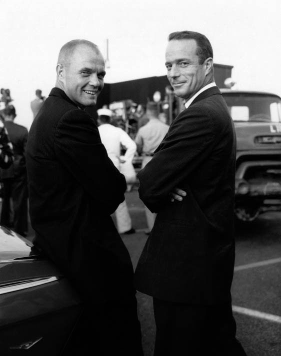 John Glenn and Scott Carpenter 14067533676