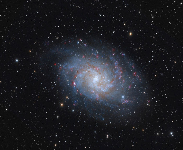 M33 Triangulum Aristarh