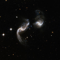 250px Hubble Interacting Galaxy Arp 256 2008 04 24