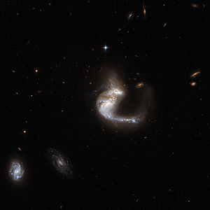 300px Hubble Interacting Galaxy UGC 4881 2008 04 24