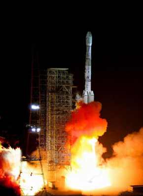 The Launch of Long March 3B Rocket