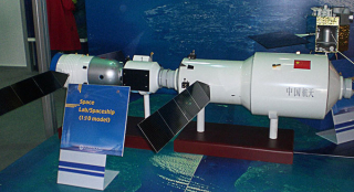 Tiangong 2 space laboratory model