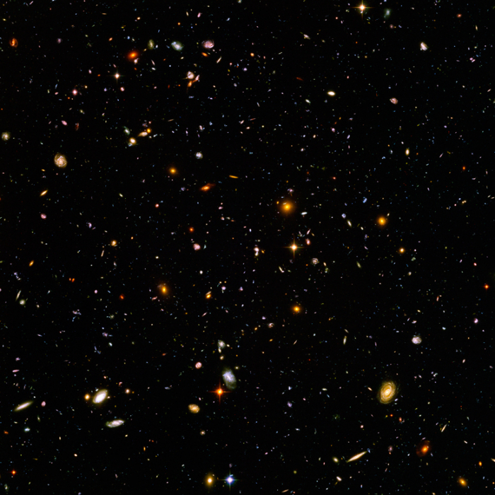 Hubble ultra deep field2003 2004