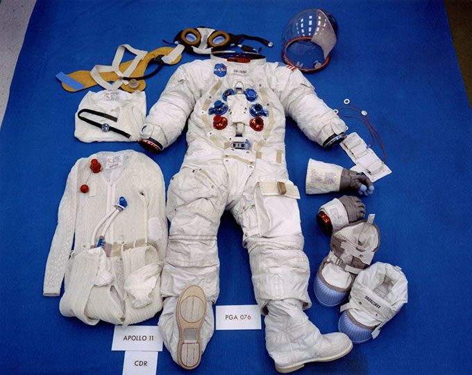 Apollo 11 space suit