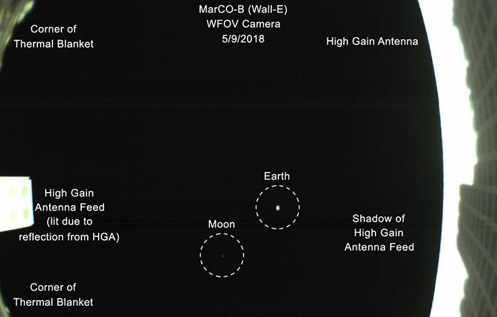 marscubeone earth moon annotated