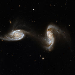 250px Hubble Interacting Galaxy NGC 5257 2008 04 24